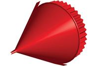 Заглушка конька круглого конусная D=220