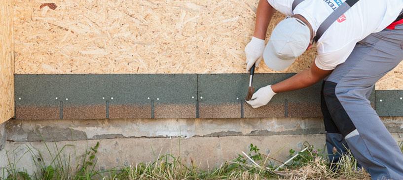 Монтаж фасадной плитки технониколь своими руками