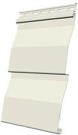 виниловый сайдинг деке цвет Сливки